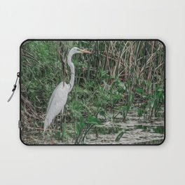 Just Wading Around Laptop Sleeve