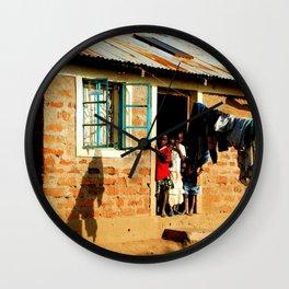 Kenya / Kitui Kids 3 Wall Clock