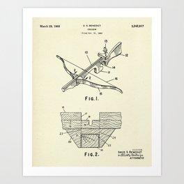Crossbow-1966 Art Print