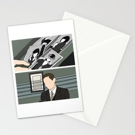 the green mill photos - duo Stationery Cards