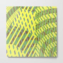Greens Metal Print