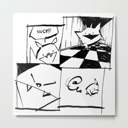 minima - IA - nuce Metal Print