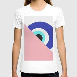 Devil eye pink hide T-shirt