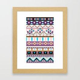 Aztec jazz 2013 Framed Art Print