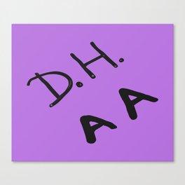 Senior Scribe DH AA Canvas Print