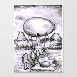 visitation Canvas Print