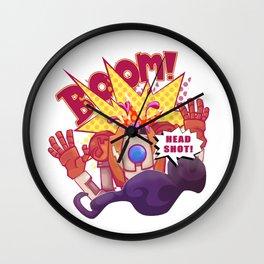The Transformers: More Than Meets The Eye - Head Shot Rung Wall Clock