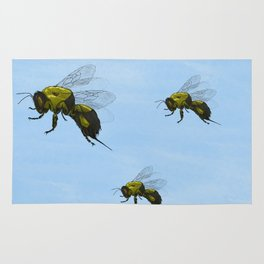 Flight of the Bumblebees Rug