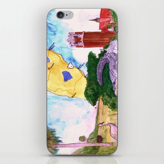 """Gainesville, FL"" by Cap Blackard iPhone & iPod Skin"