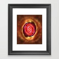 Motion Swirl Framed Art Print