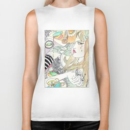 Alice In Wonderland Biker Tank
