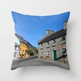 Kinvara Bed & Breakfast Throw Pillow