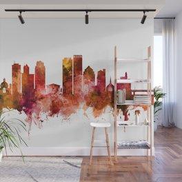 Dayton Ohio Skyline Wall Mural