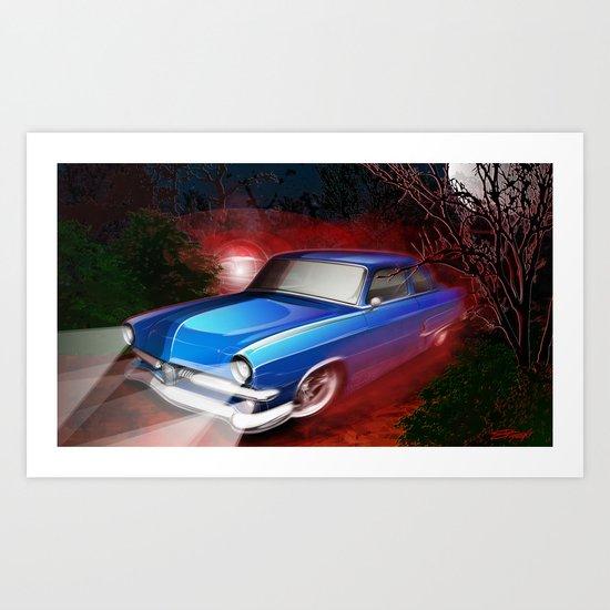 'Shine Runner Art Print