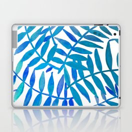 Leaf Decor :Blue Laptop & iPad Skin
