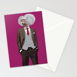 Baboon wearing William Fioravanti Stationery Cards