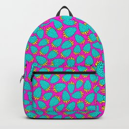 Cosmic strawberry design. Backpack