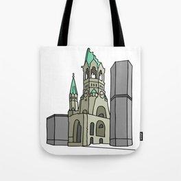 Kaiser Wilhelm Memorial Church Tote Bag