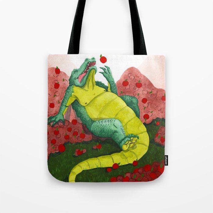 Allison's Alligator Tote Bag