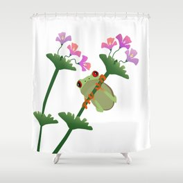 Oliver Hanging Around Shower Curtain