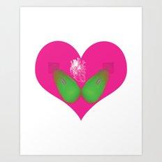 lovebomb-iiis - élan vital ephemeral - in_destruction creation! Art Print