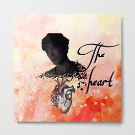 Bellamy: The Heart Metal Print