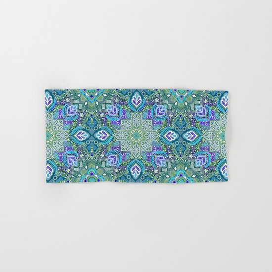Peacock Summer Hand & Bath Towel
