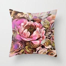 Cabsink17DesignerPatternLIF Throw Pillow
