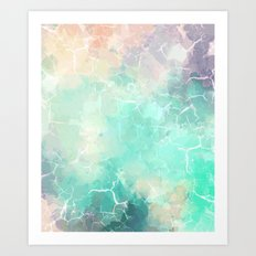 Marble #society6 Art Print