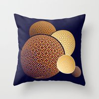 planets Throw Pillows featuring - planets - by Digital Fresto