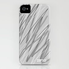 Grey Slim Case iPhone (4, 4s)