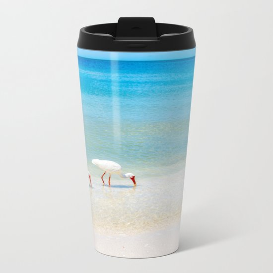 Feeding Time Metal Travel Mug