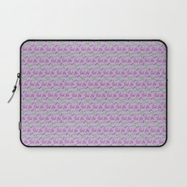 Bad Ass Floral - purples Laptop Sleeve