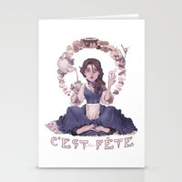 macaroon Stationery Cards featuring Enchanting  by Lettie Bug