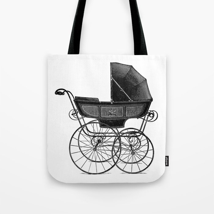 Baby carriage Tote Bag