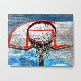 Basketball vs 111 Metal Print
