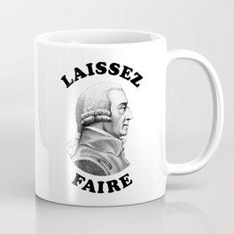 Laissez Faire Adam Smith- Funny Economics Teacher Coffee Mug