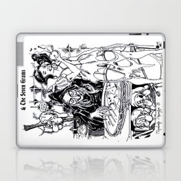 Dis Snow Whore & The Seven Grams (Snow White) Laptop & iPad Skin