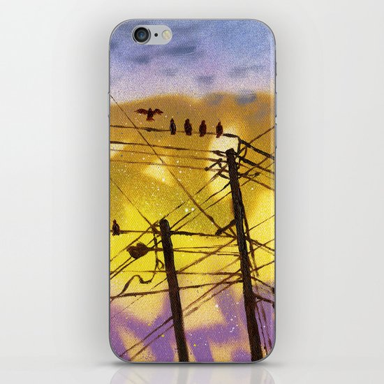 High Wire Act iPhone Skin