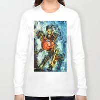 bioshock Long Sleeve T-shirts featuring Bioshock Big Sister by Joe Misrasi