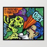 skeletor Canvas Prints featuring Skeletor by Hugo Maldonado