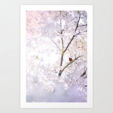 Water-colour Spring #2 Art Print
