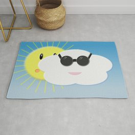 Cloudy day Rug