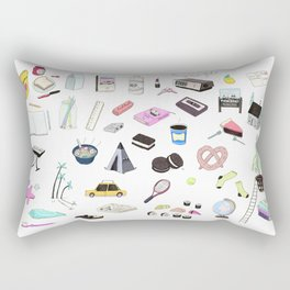 I Would Rather Just Hang Out With You Rectangular Pillow