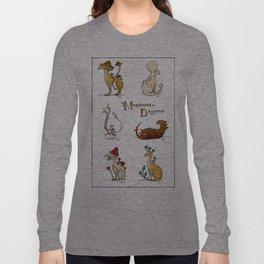 Mushroom Dragons (Fungus Draconis) Long Sleeve T-shirt