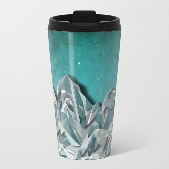 Night Mountains No. 31 Metal Travel Mug