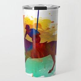 Polo player Travel Mug