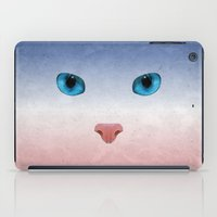 meow iPad Cases featuring MEOW by Rosa Picnic