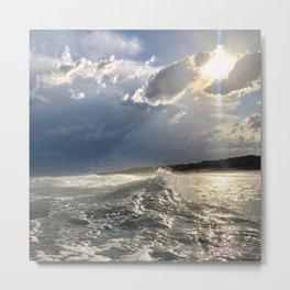 Lovely Sea Metal Print