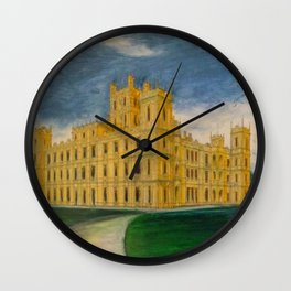 Downton Abbey – Highclere Castle Wall Clock
